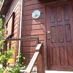 front door to upper unit
