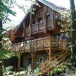 la terrasse, côté forêt