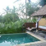 Courtyard pool villa - private plunge pool and day bed