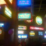 decor inside restaurant - eye sore
