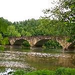 Cumberland Bridge built in the early 1900's