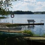 hotel view of the lake