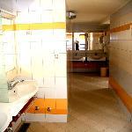 camp Čikat - toilets, washroom