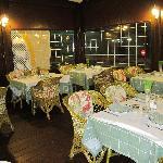 Smoking dining room/terrace
