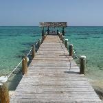 Compass Point Beach Resort pier