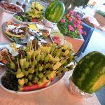 Buffet di Frutta Notte Rosa