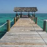 another image of pier at Compass Point