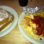 migas and French toast