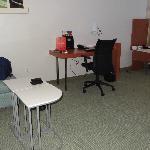 "Missing desk like in ""normal"" room"