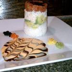 Ahi tuna tower - delicious!