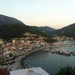 Parga from the castle