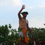 luau coconut opening