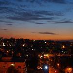 夕方、部屋から旧市街の眺め