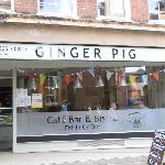 Front of GINGER PIG Cafe Bar & Bistro