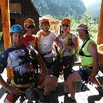 Eric and Josh are great zipline guides. Thanks!!