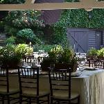 "Luxurious Wedding Reception at Hawkesdene. Our Theme was ""Herb Garden""."