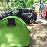 esempio di piazzola una tenda pi? auto