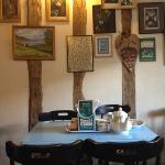 upstairs café