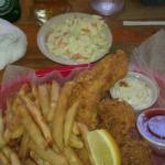 Grouper, Shrimp & Coleslaw