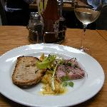 Smoked ham hock terrine - July 2012