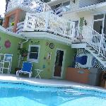 The pool with view of the outdoor area