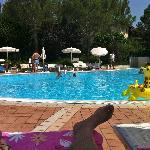 1 van de zwembaden