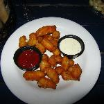 Fried cheese curds. Yummmm