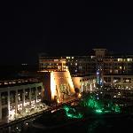 night view of rixos