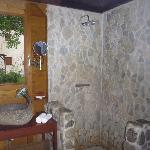 Salle de bain du Carbet