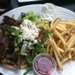 Gyro - A classic Greek combination of beef and lamb.