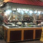 Salad Bar Station