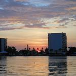 Sunrise over the bay