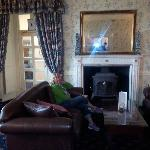 Sitting Room New Country Hotel Cardiff Wales