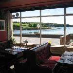 The view of Ring Harbour from the front window
