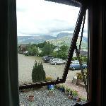 Vista desde la ventana del dormitorio