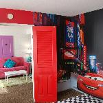 Featuring 2 two bedroom Disney inspired family suites