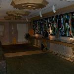 lounge off of front desk reception