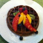 Breakfast- David's Famous Belgian Waffles