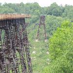 Kinzua Bridge from obervation area