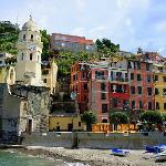 Cinque Terre area of Italy - Vernazza