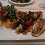 seafood platter- excellent!