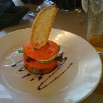 tomato & mozzarella app