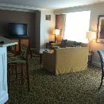 the type of photo that Foxwoods should post on their site! Great living area setup