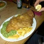 Fish and chips extraordinaire!