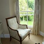 Bedroom - lovely upholstery