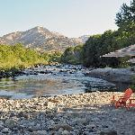Afternoon view of the Kaweah River