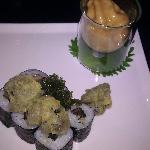 escargot roll and tempura