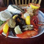 Stuffed Lobster dinner $19