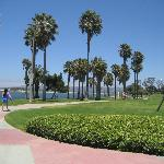 Fiesta Island Park at Mission Bay on a Friday morning.