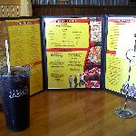 Happy Joe's menu - they serve Pepsi. Follow up with ice cream at the parlor.